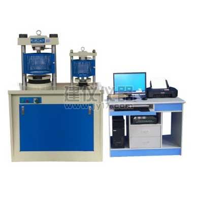 TYE-300D电脑全自动水泥抗折抗压机